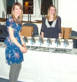 Keely and Claire selling Smoke