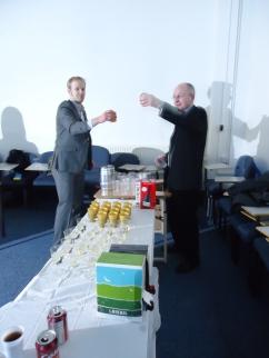 Tyler and Martin opening bar