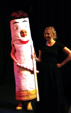Smoke Rings, a student-written play, being performed at The Everyman Theatre
